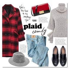 """Plaid comfy with Yoins"" by mada-malureanu ❤ liked on Polyvore featuring Dickies, Zara and Michael Kors"
