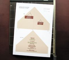 C&ing Tent Invitation - DIY Tutorial & Tent Place Card Free Template - Invitation Templates DesignSearch ...