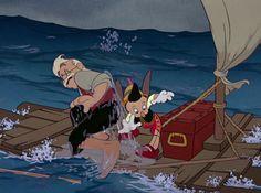 *MR. GEPETTO & PINOCCHIO ~ Pinocchio 1940