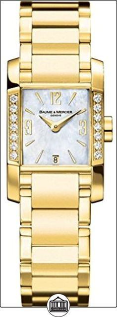 Baume&Mercier M0A08698_wt Reloj de pulsera para mujer  ✿ Relojes para mujer - (Lujo) ✿