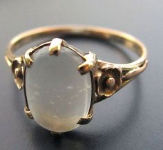 Vintage Moonstone Rings (page 3) - Pics about space