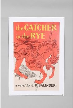 UrbanOutfitters.com > Catcher In The Rye Book Cover Poster