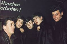 * The Beatles! * with Gene Vincent.