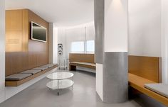 Medical Eye Care Clinic | sanahuja & partners | wood interior design