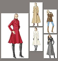 V8346 - Bought this pattern to make a Sherlock inspired coat.  Only problem, too hot in Florida and I'm just not a long, black coat kind of girl.