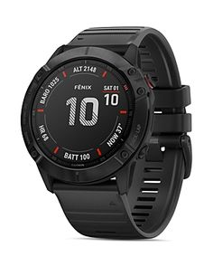 Styled for a trim, comfortable fit on smaller wrists, this Garmin fenix Pro multisport GPS watch is great for athletes and adventurers who want to do more, not wear more. From Garmin. Army Watches, Sport Watches, Analog Watches, Triathlon, Smartwatch Features, Android Watch, Thing 1, Fitness Watch, Heart Rate Monitor