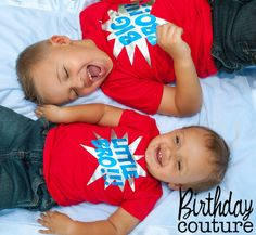 Super Brothers - Big Brother or Little Brother Shirt
