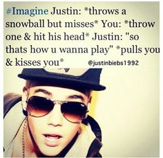 Playing Snowball With Justin