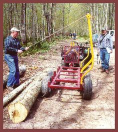 small log trailer - Google Search