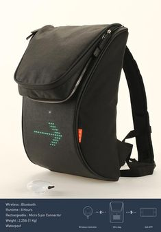 SEIL Bag – LED Equipped Backpack for Cyclists (VIDEO)