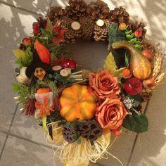 Jesenný Vencek 32cm / anad333 - SAShE.sk - Handmade Dekorácie