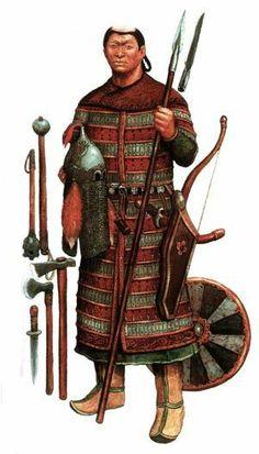 Ancient Siberian warrior, Tuvan (?)