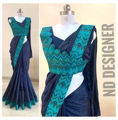 New Saree Blouse Designs, Cutwork Blouse Designs, Blouse Designs Catalogue, Half Saree Designs, Fancy Blouse Designs, Seda Sari, Designer Blouse Patterns, Skirt Patterns, Coat Patterns