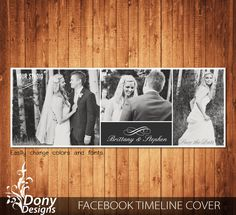 Wedding Facebook timeline cover template photo collage - Photoshop Template Instant Download BUY 1 GET 1 FREE: fc344 by DonyDesigns on Etsy