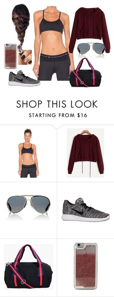 """""""Bez tytułu #17999"""" by sophies18 ❤ liked on Polyvore featuring Body Language, Givenchy, NIKE, Boohoo and LMNT"""