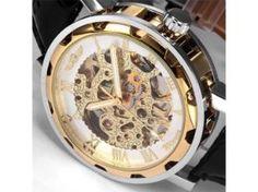 Mechanischherenhorloge, goudkleurig - Lunch veiling vrijdag - BVA Auctions - online veilingen