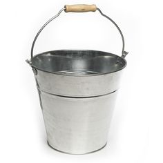 Wilko Cleaning Galvinised Bucket 12ltr