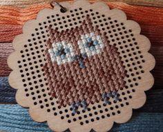 Owl Cross Stitch free pattern-lucykatecrafts.blogspot.com