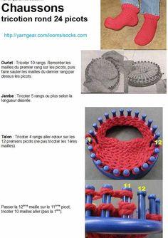 wallpapers images photos pour tuto tricotin long tricot crochet pinterest photos art. Black Bedroom Furniture Sets. Home Design Ideas