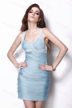 Sexy Column Mini/Short Natilie's Cocktail Dress Junior Prom Dresses- ericdress.com 9654971