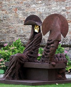 Philip Jackson. I saw a brilliant outdoor exhibition of his work in Chichester Cathedral grounds about 20 years ago with my aunt and uncle