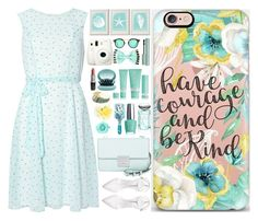 """""""Have Courage and Be Kind // Casetify (07)"""" by itsybitsy62 ❤ liked on Polyvore featuring Michael Kors, Dorothy Perkins, Monsoon, Casetify, Zara, KORA Organics by Miranda Kerr, OPI, Tokidoki and By Terry"""