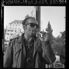 Apache, leader of Sunset Strip's youth, Los Angeles, Calif., 1967. Los Angeles Times photographic archive, UCLA Library.