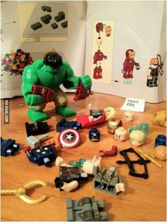 The Avengers troubles.