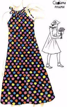 vestidos de verano y vestidos de verano. patrones