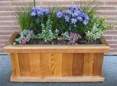 Building Wooden Planter Box