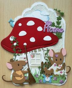 Creaties van Hetty: verhuiskaartje