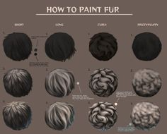 You Can Experience drawing tutorial Using These Helpful Suggestions Digital Painting Tutorials, Digital Art Tutorial, Art Tutorials, Animal Paintings, Animal Drawings, Art Drawings, Drawing Techniques, Drawing Tips, Drawing Fur
