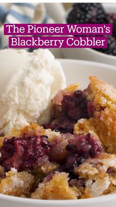 Just Desserts, Delicious Desserts, Yummy Food, Blackberry Recipes, Eat Dessert First, Desert Recipes, Love Food, Sweet Recipes, Sweet Tooth