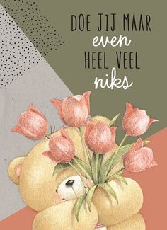 Kaarten - beterschap - operatie | Hallmark Birthday Quotes, Birthday Cards, Cute Bear Drawings, Hand Lettering Alphabet, Happy Birthday Pictures, Morning Inspiration, Tatty Teddy, Happy B Day, Christmas Wishes