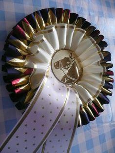 Show Rosette Horse Ribbon Equestrian Award