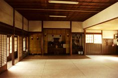 This last aspect is of Chinese and Japanese Buddhist culture tipically, which identifies the dojo as a place of isolation and meditation. Description from shinken-dojo.it. I searched for this on bing.com/images