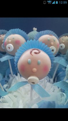 Cute Baby Shower cake pop!
