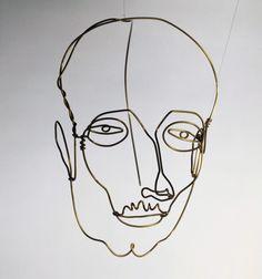 Alexander Calder http://artblart.files.wordpress.com/2013/12/calder_portrait_of_a_man_web.jpg?w=655&h=700