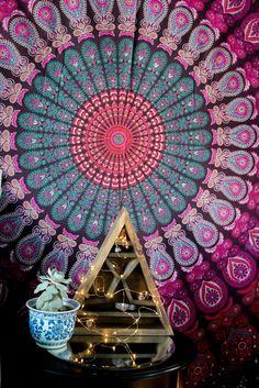 Gypsy Spells Mandala Tapestry
