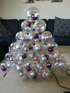 christmas tree out of baby food jars....don't know how many of these I made when I was growing up....so many orders
