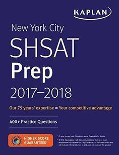 New York City SHSAT Prep 2017 2018 Kaplan Test