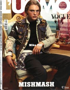 uomo vogue | uomo Vogue - Michael Pitt Photo (4512138) - Fanpop fanclubs