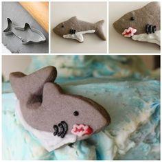 SHARKNADO 3 Bloody Shark Cookies