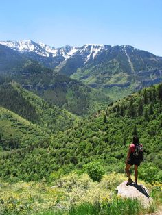 Hikers will find an abundance of scenic options in Logan Canyon.
