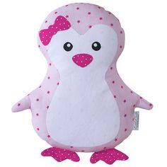 AKASCHA | Kuscheltier Pinguin Rosa Luise