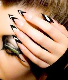 Stiletto Nail Art Designs