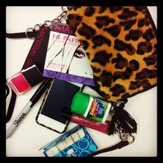 Inside a Material Girl's bag! #MaterialGirl