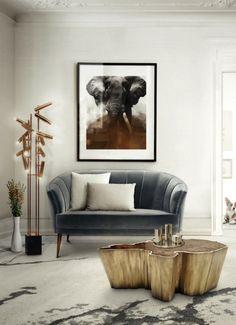 6 dicas para dar um toque de arte à decoração da sua sala de estar   Decoração pra Casa