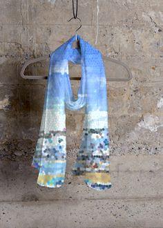 Cashmere Silk Scarf - Forever Florals by VIDA VIDA E3JbzS7lq