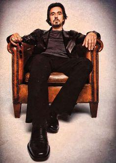 Al Pacino - Love everything about this man.......minus the smoking.